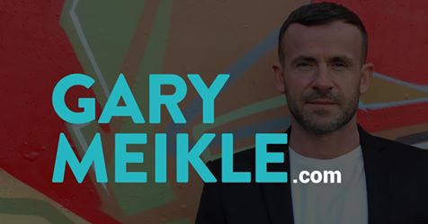 Gary Meikle Website FB Banner Ad, Designed by Circa78 Creative