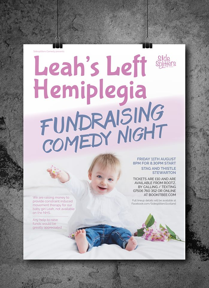 Charity Night Poster Designed by Circa78 Creative