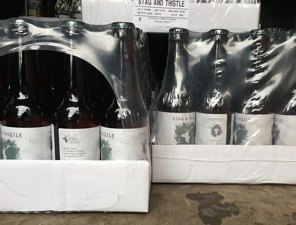 Stag and Thistle's First Ale with Circa78 Label in Transit