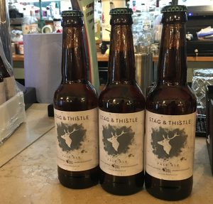 Stag & Thistle Beer Labels
