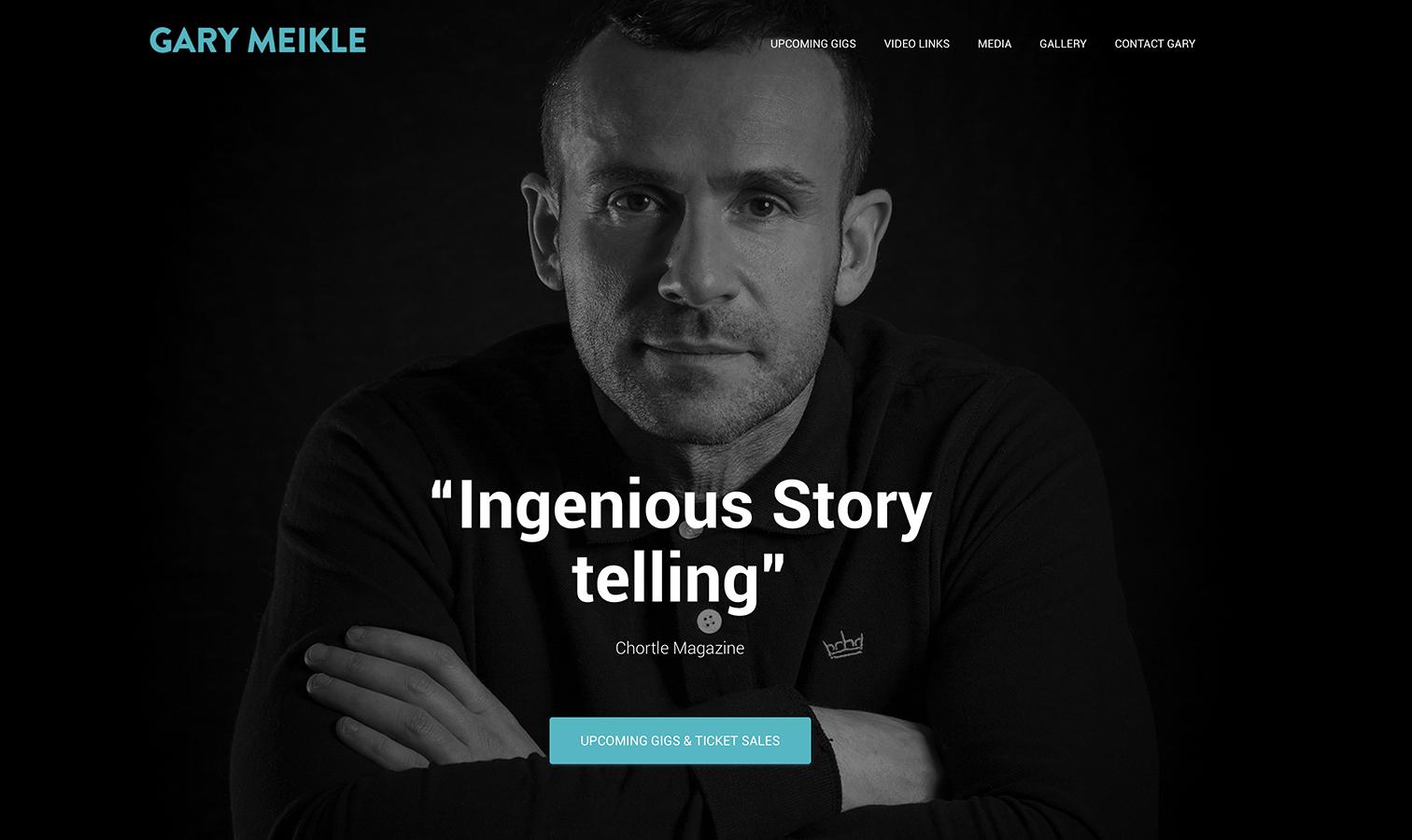 Gary Meikle Homepage